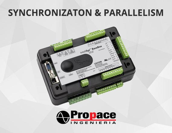 Synchronizaton parallelism services