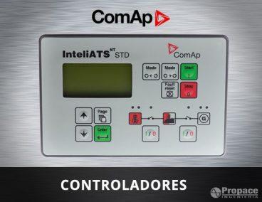 Controladores transferencias automáticas Inteliats