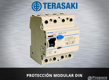 proteccion modular DIN terasaki costa rica