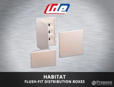 habitat flush fit distribution boxes costa rica