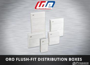 oro flush fit distribution boxes costa rica