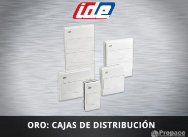 Cajas de distribucion de empotrar